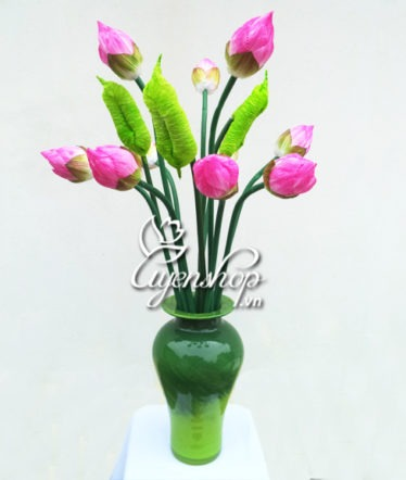 Hoa lụa, hoa giả Uyên shop, Trong sáng cùng Sen