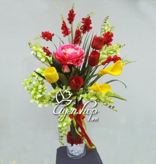 hoa giả - hoa nghệ thuật - uyenshop