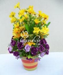 Hoa lụa, hoa giả Uyên shop, Lãng mạn