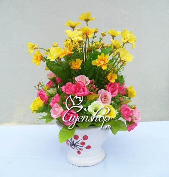 hoa gia - hoa nho - uyenshop