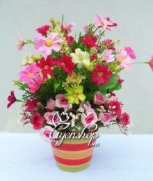 Hoa lụa, hoa giả Uyên shop, Ấm áp
