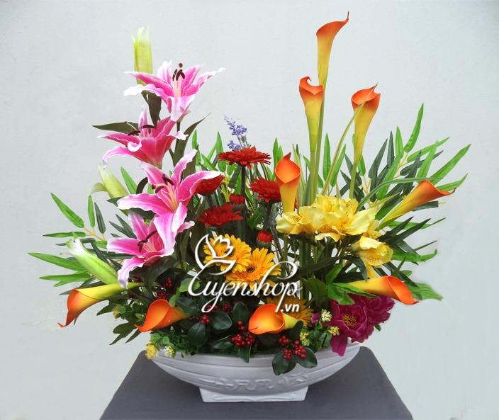 hoa gia - thuyen hoa - uyenshop