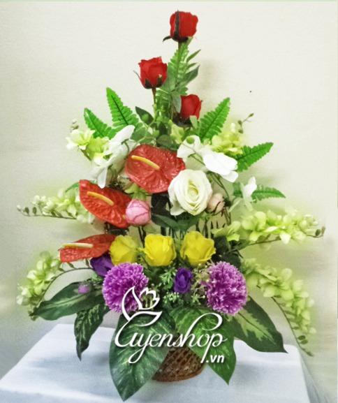 hoa gia - gio hoa dep