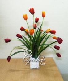 Hoa lụa, hoa giả Uyên shop, Hoa lụa Tulip