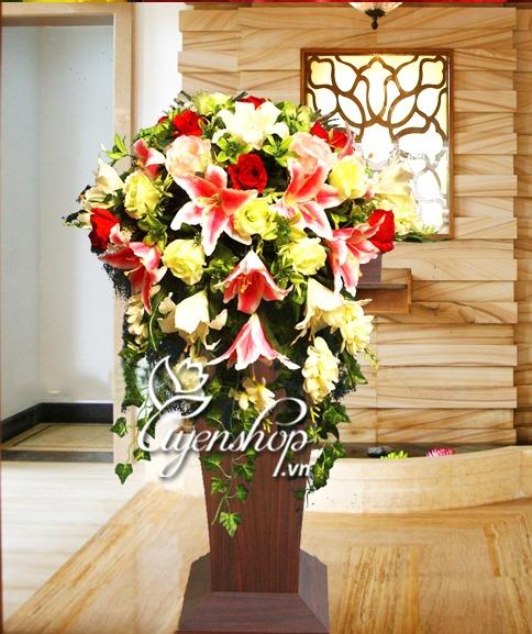 hoa de buc - hoa lua - uyenshop
