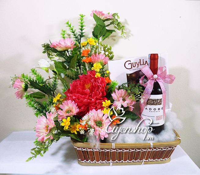 qua tet - uyenshop - ruou va hoa