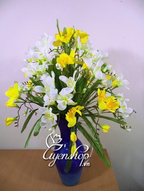 hoa gia - hoa do quyen - hoa lua uyenshop