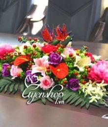 Hoa lụa, hoa giả Uyên shop, Hoa họp hội nghị