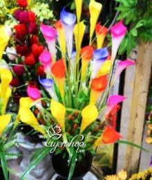Hoa lụa, hoa giả Uyên shop, Hoa rum nhiều mầu