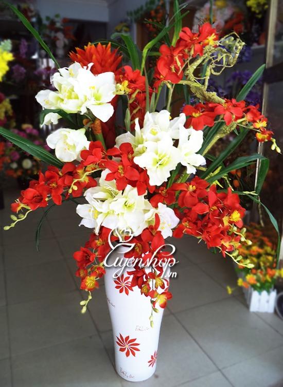 lo hoa lua - hoa lua - hoa gia - uyenshop