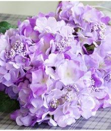 Hoa lụa, hoa giả Uyên shop, Hoa Tú cầu
