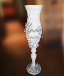 Hoa lụa, hoa giả Uyên shop, Lọ ly cao Composite