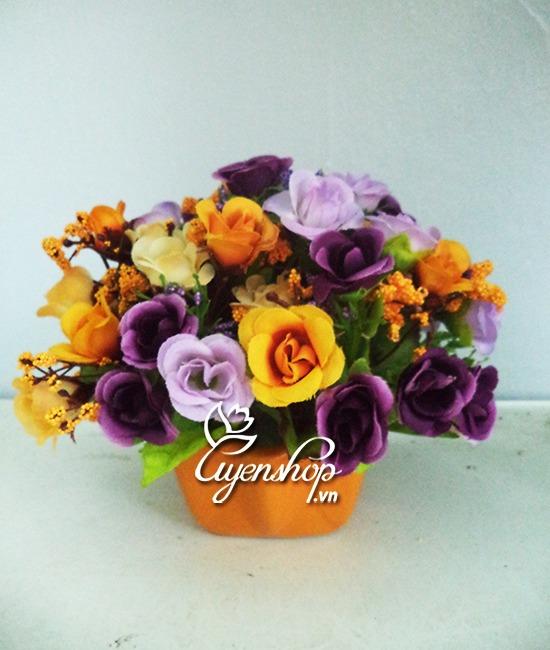 hoa de ban - hoa nho - hoa lua