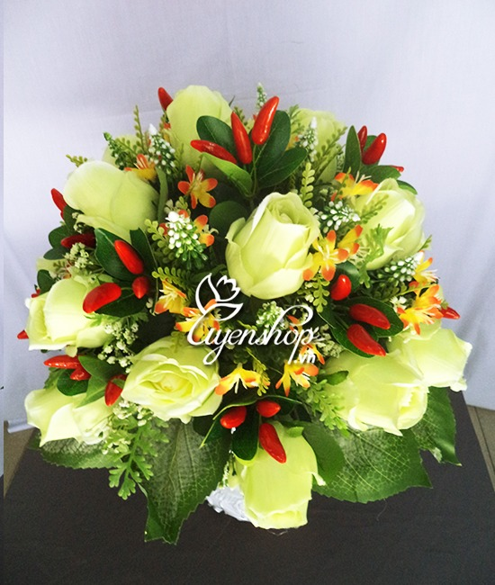 hoa hong xanh - hoa lua - thien than