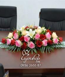Hoa lụa, hoa giả Uyên shop, Hoa phòng họp