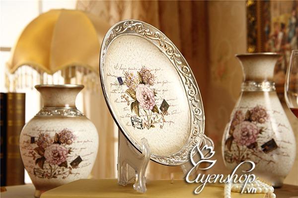 bo trang tri - hoa tiet hoa hong