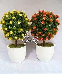 Hoa lụa, hoa giả Uyên shop, Cây tú cầu hoa
