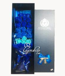 Hoa lụa, hoa giả Uyên shop, Hoa hồng sáp thơm