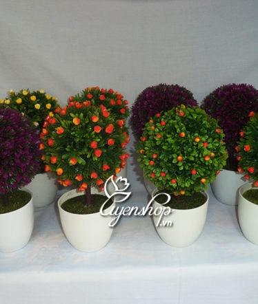 Hoa lụa, hoa giả Uyên shop, Cây tú cầu nhỏ