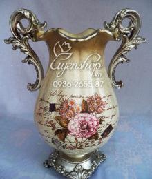 Hoa lụa, hoa giả Uyên shop, Bình hoa Cổ điển