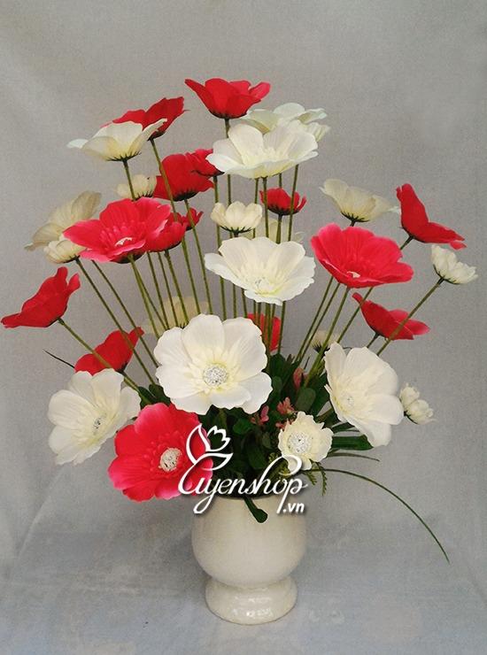 hoa canh buom trang hong