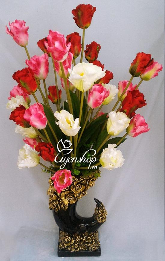 hoa tulip rang cua - hoa lua