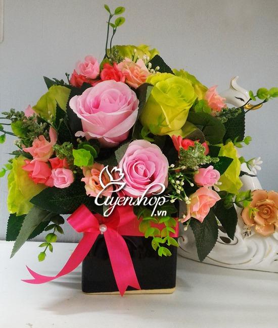 hoa de ban dep - hoa gia