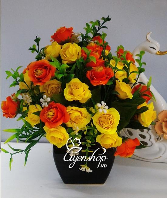 hoa hong de ban - hoa gia