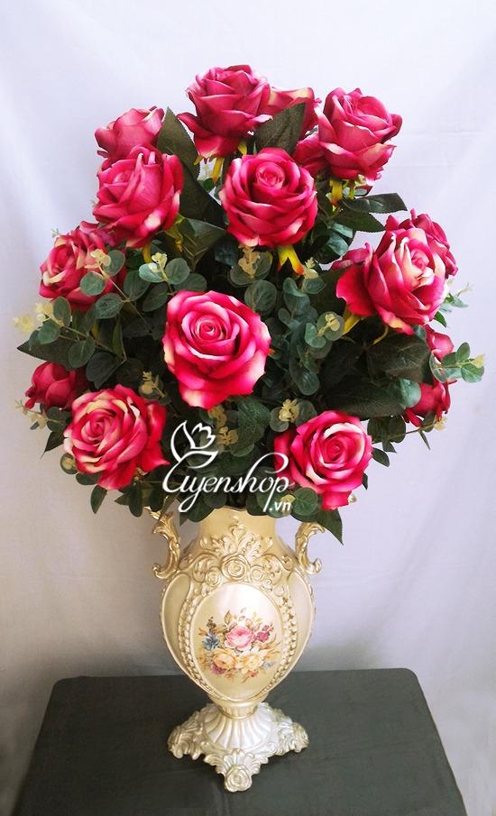 hoa hong nhung - hoa lua dep