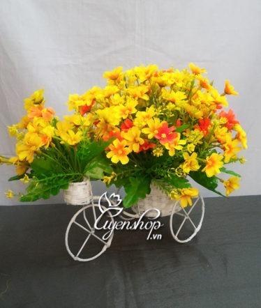 Hoa lụa, hoa giả Uyên shop, Nắng vàng xe hoa