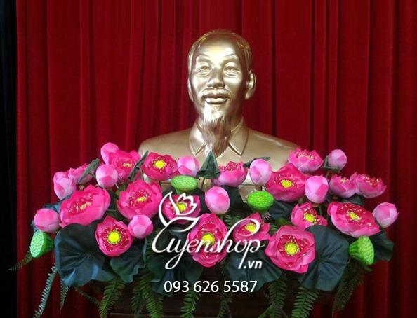 hoa tuong bac ho 4 - uyen shop