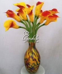 Hoa lụa, hoa giả Uyên shop, Vẻ đẹp hoa Rum