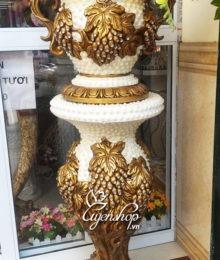 Hoa lụa, hoa giả Uyên shop, Bộ đôn Chùm nho