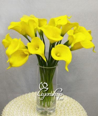 Hoa lụa, hoa giả Uyên shop, Đẹp tự nhiên với hoa Rum