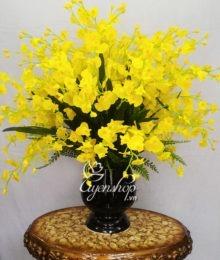Hoa lụa, hoa giả Uyên shop, Bình Lan Vũ Nữ
