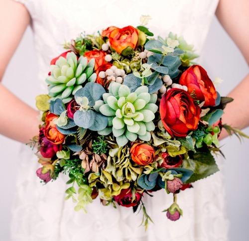 Hoa lụa, hoa giả Uyên shop, Ưu điểm của hoa lụa trong đám cưới dành cho cô dâu