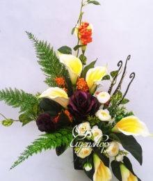 Hoa lụa, hoa giả Uyên shop, Nghệ thuật hoa Rum