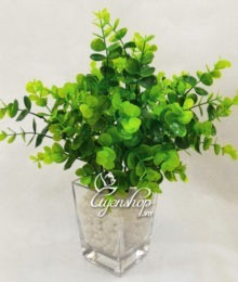 Hoa lụa, hoa giả Uyên shop, Cây xanh