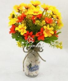 Hoa lụa, hoa giả Uyên shop, Lọ hoa nhỏ