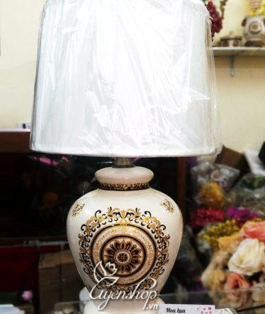Hoa lụa, hoa giả Uyên shop, Đèn ngủ sang trọng