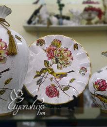 Hoa lụa, hoa giả Uyên shop, Bộ trang trí Hoa Trà