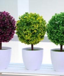 Hoa lụa, hoa giả Uyên shop, Cây tú cầu mới