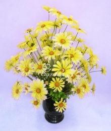 Hoa lụa, hoa giả Uyên shop, Bình hoa cánh bướm