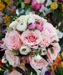 Hoa lụa, hoa giả Uyên shop, Hoa cưới đẹp
