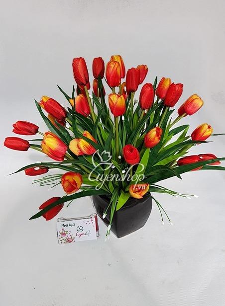 Hoa lụa, hoa giả Uyên shop, Cách trang trí hoa giả tiện ích cho gia đình bạn