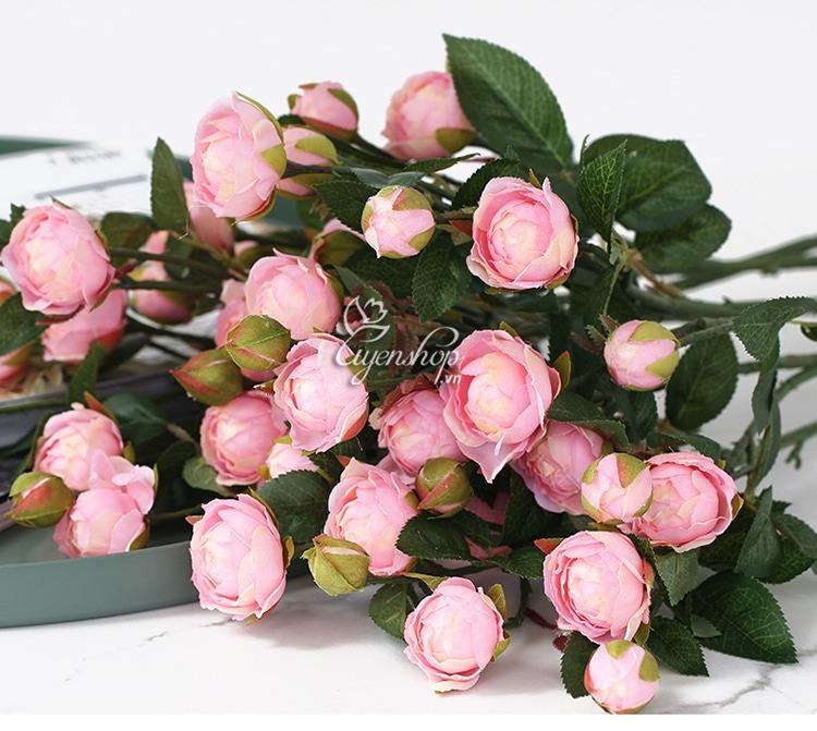 Hoa lụa, hoa giả Uyên shop, Mẹo hay làm sạch hoa lụa siêu dễ dàng, giúp căn nhà trở nên tươi mới trong tích tắc