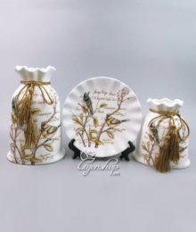 Hoa lụa, hoa giả Uyên shop, Bộ trang trí Thiên Nhiên