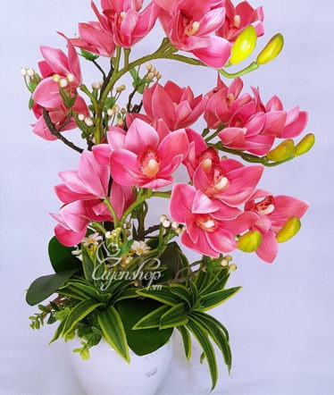 Hoa lụa, hoa giả Uyên shop, Địa Lan Hồng
