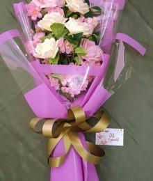 Hoa lụa, hoa giả Uyên shop, Bó hoa của sự thủy chung