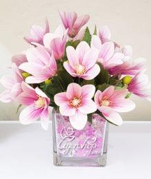Hoa lụa, hoa giả Uyên shop, Hoa lụa – Hoa để bàn